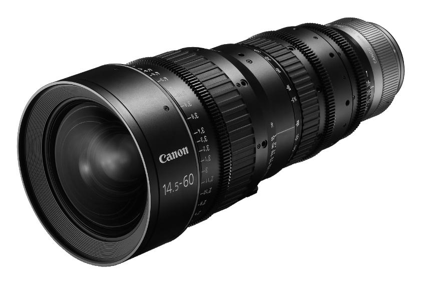 CN-E 14.5-60mm T2.6 L S EF Mount Cinema Zoom Lens