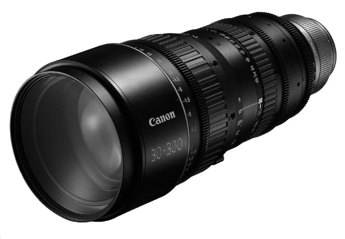 CN-E 30-300mm T2.95-3.7 L S EF Mount Cinema Zoom Lens