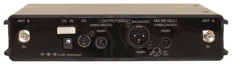 5000 Series UHF Wireless Receiver