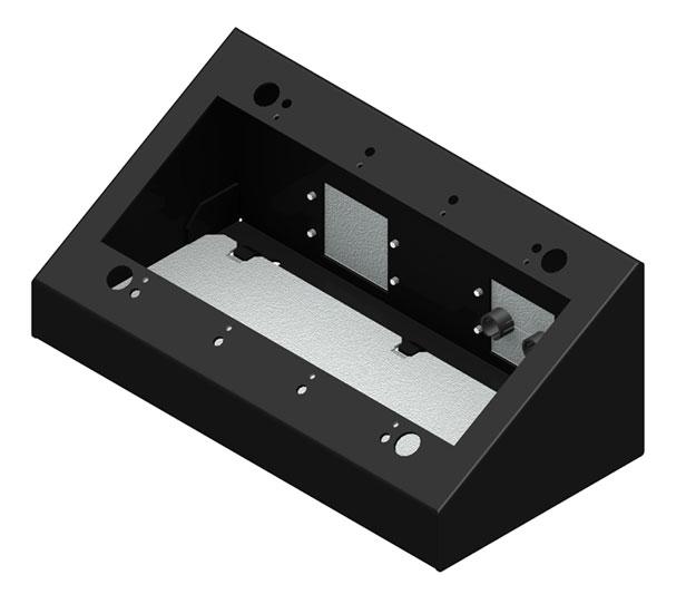 4 Gang Desktop Mounting Box