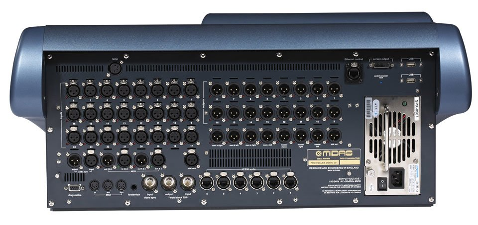 PRO1 40 Channel x 27 Bus Digital Audio Mixing System - Touring Package