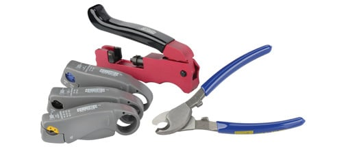 C-Tec2 Complete Tool Pack for Connector Termination up to RG6
