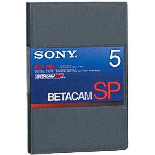 Sony BCT5MA Betacam SP Small Cassette 5 min BCT5MA