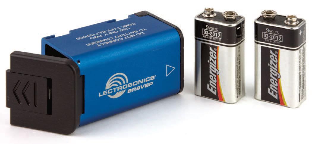 9V Battery Adapter for SRBATTSLED and Octopack