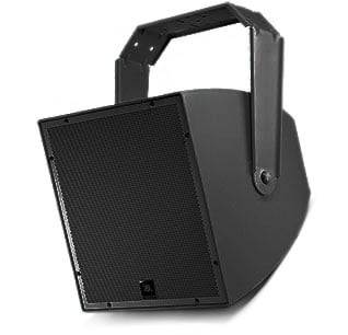 """12"""" Passive Black All-Weather Compact 2-Way Coaxial Loudspeaker"""