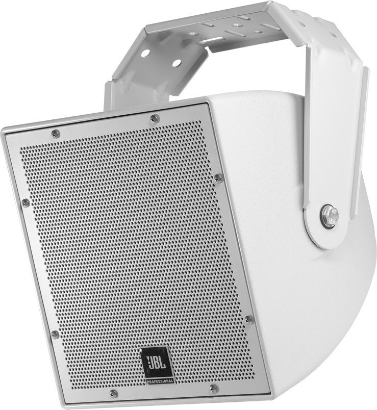 "8"" Passive All-Weather Compact 2-Way Coaxial Loudspeaker in Light Grey"