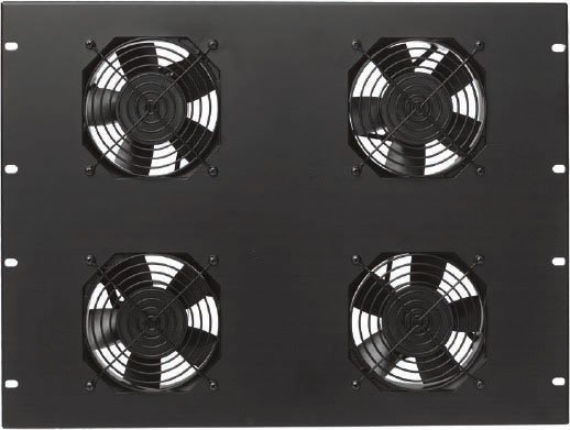 7RU Panel with 4 Fans