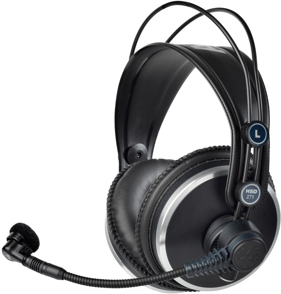 Professional Headset with Dynamic Microphone without Cable