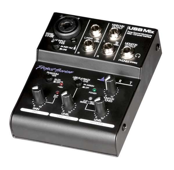 Mixer/Interface, 3 Channel