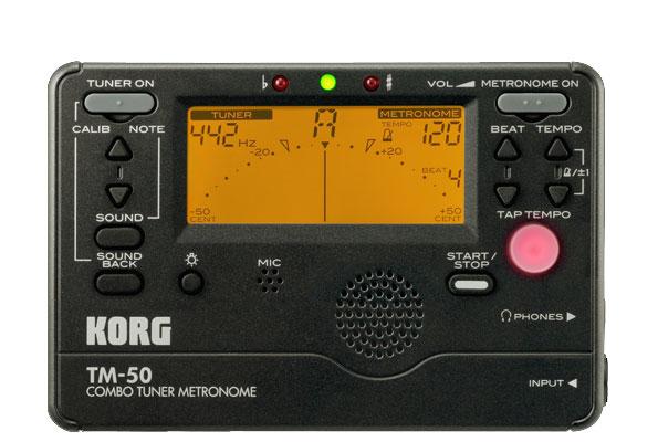 Tuner/Metronome in Black