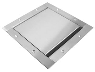 Super Pocket Trim Bezel, Stainless Steel, Standard Lid