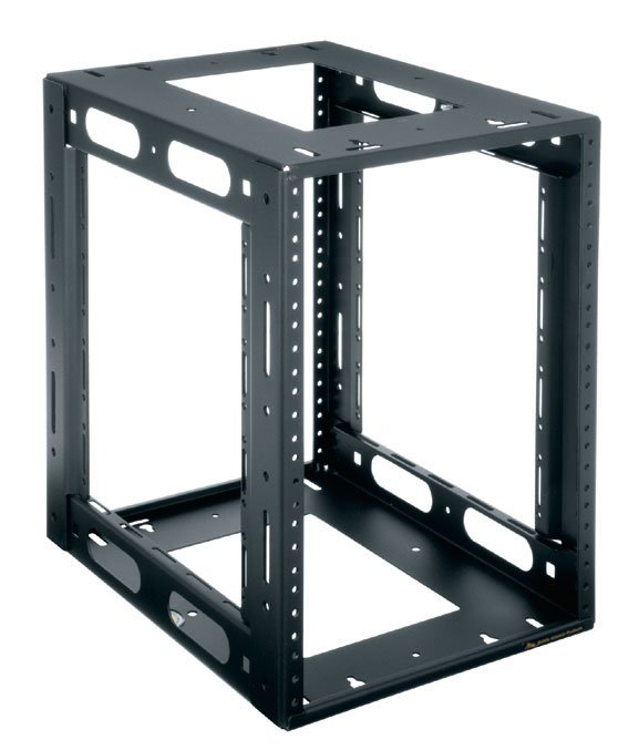 "8 space, 14"" HRF Series Half Rack Frame"
