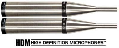 Matched Pair of TC25 Omnidirectional Small Diaphragm Condenser High Defintion Microphones
