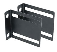 Pair of Front/Back Facing Power Strip Mounting Brackets