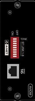 SI Series Aviom A-Net Card