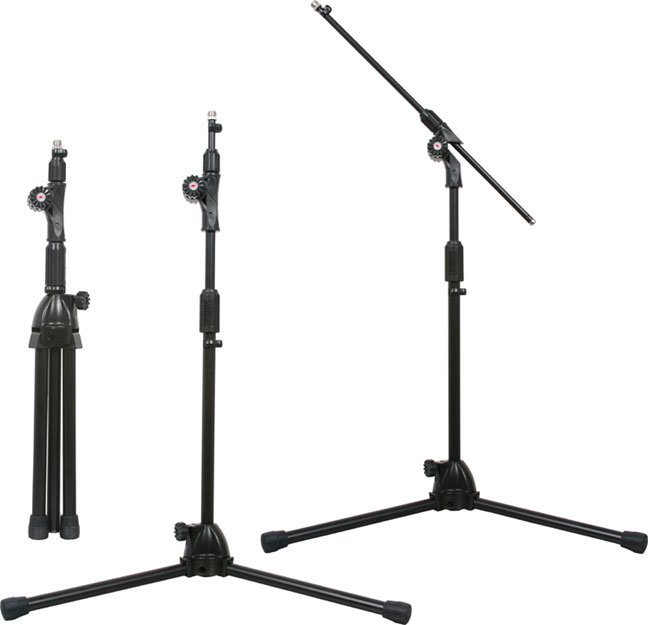 Tuck-Away Short Microphone Boom Stand