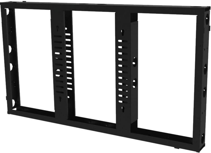 "Modular Video Wall for 55"" Flat Panels"