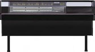 Desk, for Digidesign C/24, Black Trim Panel