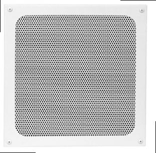 "White Screw-Mount Square Grille for 8"" Speaker"