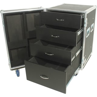 Tour 8 Series 4 Drawer Case with Casters