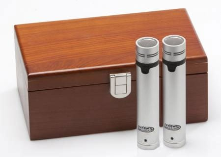 Matched Pair of Small Diaphragm Cardioid Pencil Condenser Microphones