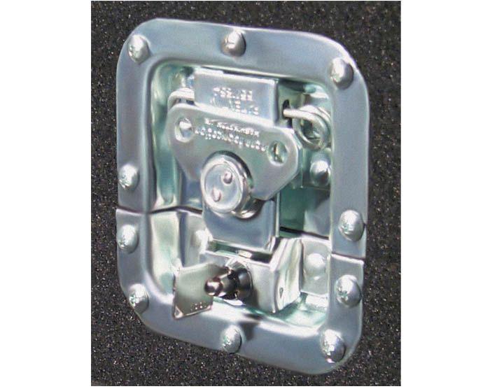 Recessed Locking Latch and Key