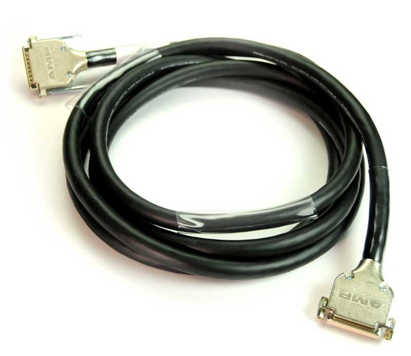 DB25 to DB25 Cable with Digidesign/Tascam AES pinouts, 10ft