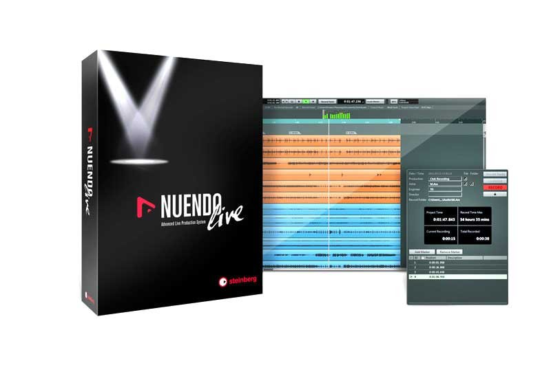 Live Production Recording Software