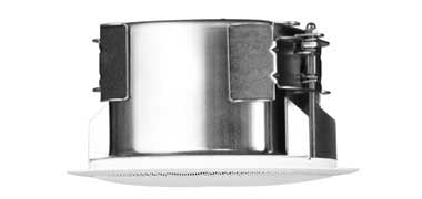 "4"" Coaxial In-Ceiling Speaker, white"