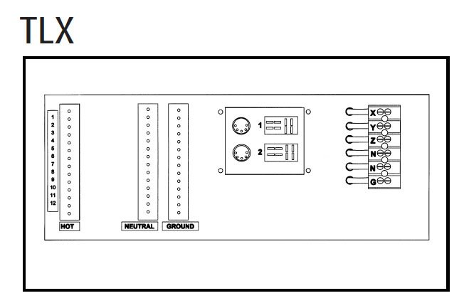 2.4 KW Per Channel Digital Dimmer (with Terminal Strip Option, Rack Mountable)