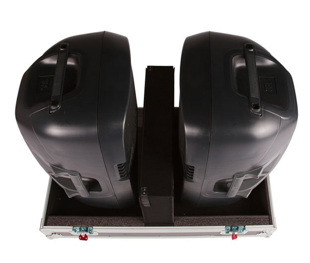 "Double Speaker Case for Two 15"" Speakers"