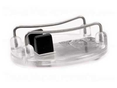 Mic Cage, Clear/Black