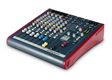 10 Channel Mixer with FX and 60mm Faders