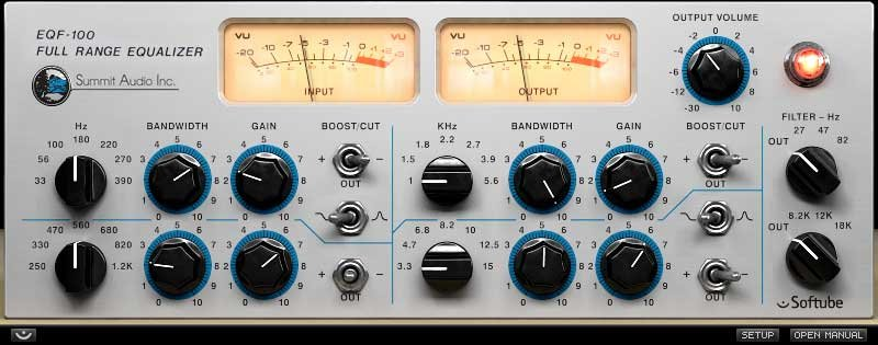 Summit Audio EQ Software Plug-In - VST3/AU/RTAS/AAX