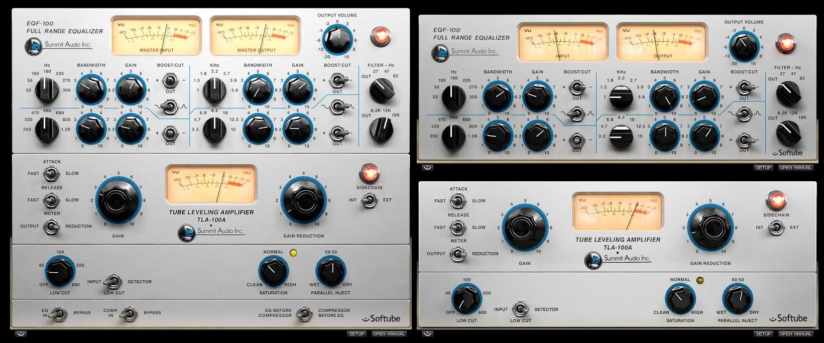 Summit Audio Channel Strip Software Plug-In Bundle - VST3/AU/RTAS/AAX