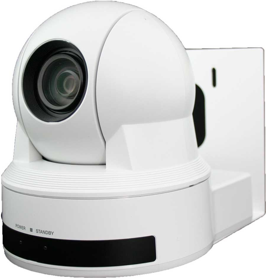 Wall Mount, White, for Sony EVI-D80 & EVI-D90
