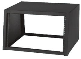 "12RU 18""D Desktop Sloped-Front Rack"