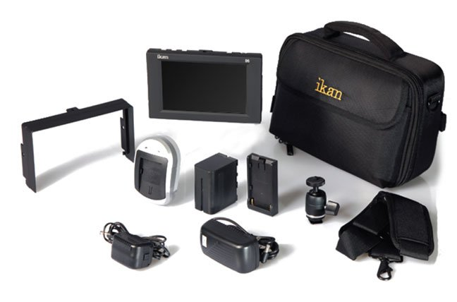 "LCD Monitor Kit, 5.6"", Canon battery"