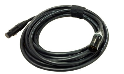 M3-25X 25 ft. 7-Pin XLR-M to XLR-F Extension Cable for M3 7-Pin Quick Release Cable System