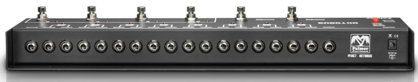 8-Channel Programmable Loop Switcher for Effects Pedal