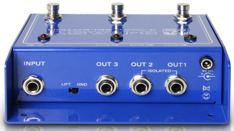 Palmer 3-EASY 3-Way Amplifier Selector P3EASY
