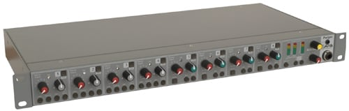 1RU 8-channel Mixer