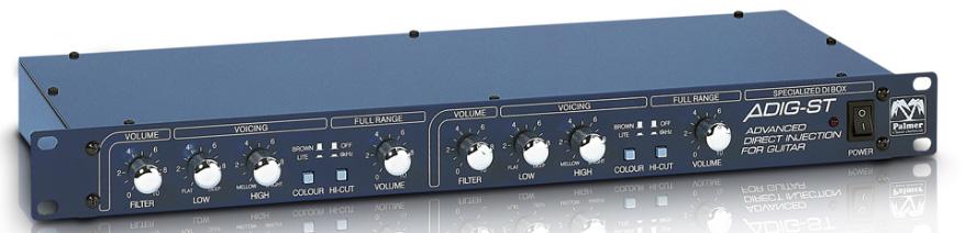 Stereo DI Box & Speaker Simulator
