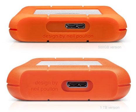 500 GB (7200 RPM) Portable Hard Drive USB 3.0 | USB 2.0