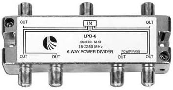 6-way Splitter
