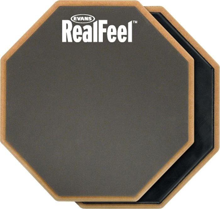evans rf12d drum practice pad 12 full compass. Black Bedroom Furniture Sets. Home Design Ideas