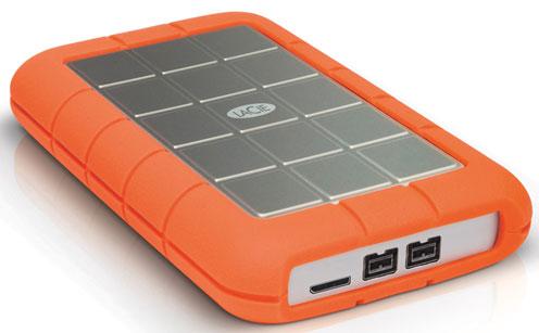 500 GB (7200 RPM) Portable Hard Drive USB 3.0   USB 2.0   FireWire 800
