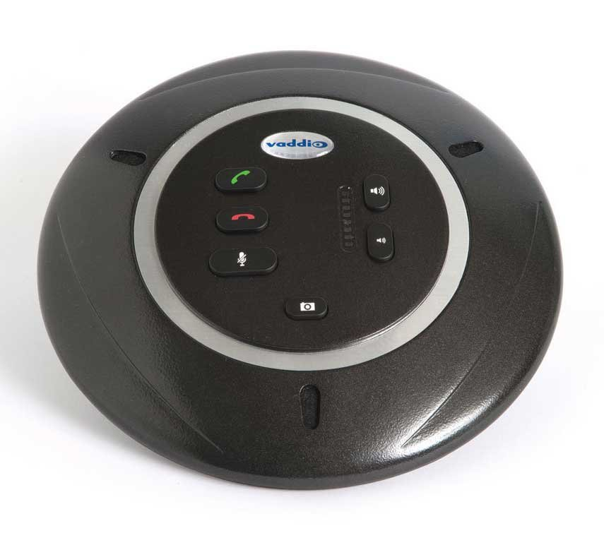 Echo Canceling Table Microphone Pod, 360-degree Pickup Pattern