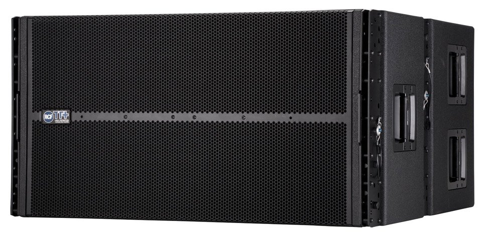 "2 x 18"" 4000W High-Output Active Line Array Subwoofer"