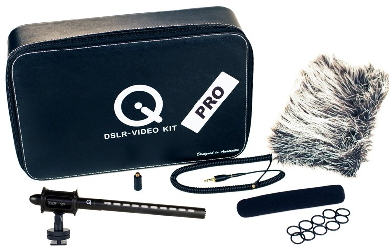 Professional Mini Shotgun Kit for DSLRs, HD Camcorders